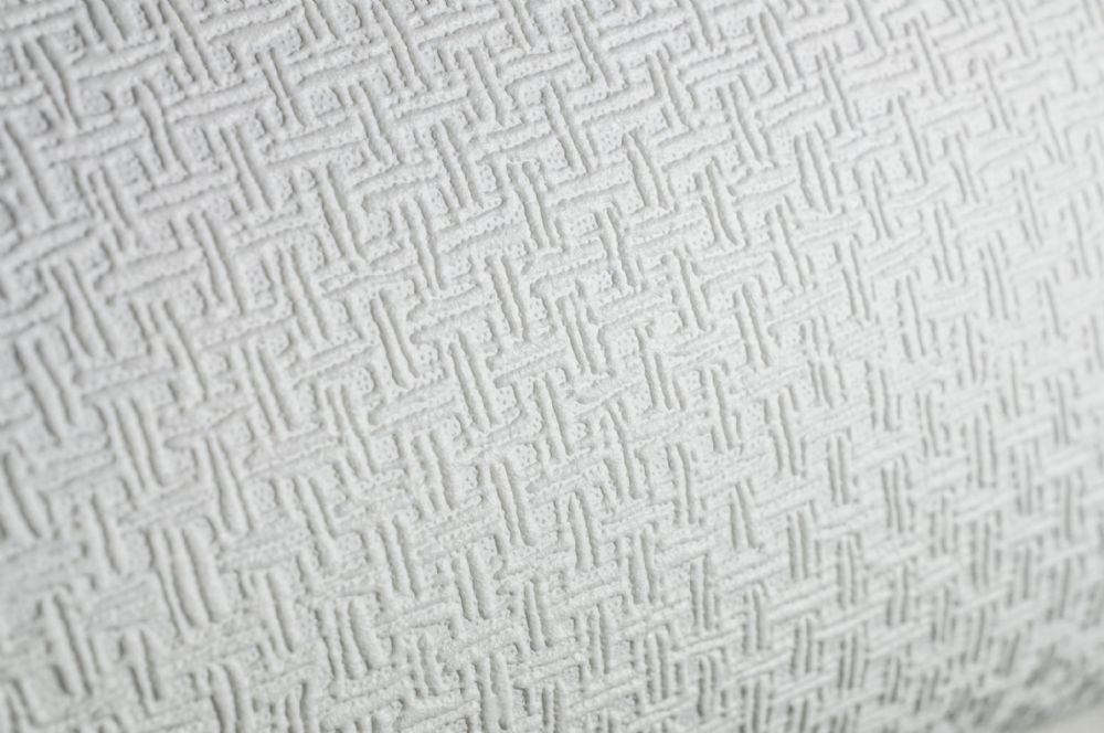 Graham & Brown Superfresco Paintable 248 Weave White Wallpaper